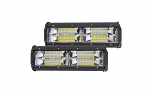 Set 2 proiectoare LED cu lupa, 144W