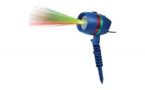 Proiector lumini laser - static si miscator, cu efect 3D holografic - exterior si interior