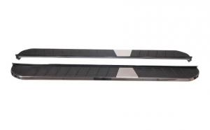 Set 2 praguri laterale metal compatibil cu Hyundai Santa Fe (2014-up) KITT Design