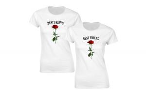 Pachet 2 tricouri Albe de dama Best