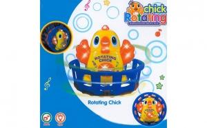 Jucarie animata ratusca, Rotating Chick, Ziua copilului, Fetite