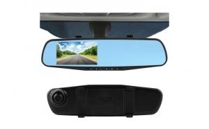 Oglinda Auto Retrovizoare - cu 2 camere de filmat Full HD