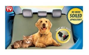 Husa auto pentru caini si pisici, cu doar 44 RON, redus de la 108 RON! Pastrati curatenia in vehiculul dumneavoastra mai usor ca niciodata!