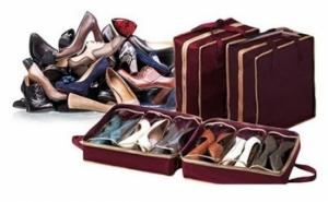 Set 2 Genti - Organizator pantofi pentru vacanta