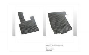 Covoare cauciuc DAF CF 65/75/85 2002-> ( 0079CF -  P110 )