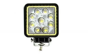 Proiector LED patrat de 27W 12/24V Spot