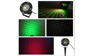 Proiector laser 2 culori, Black Friday 2019, Casa & Gradina