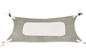 Hamac pentru paturi de bebelusi, Aexya, Gri, 87 x 51 cm
