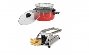 Friteuza teflonata+Feliator cartofi