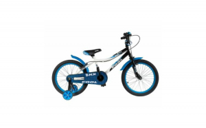 Bicicleta albastra baieti (18 inch)