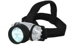 Lanterna de cap cu 7 LED-uri, unghi