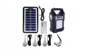 Sistem iluminare LED cu panou solar