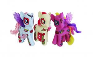 Set 3 ponei muzicali, multicolori - 3 ani+