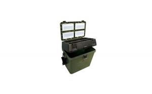 Cutie pescuit cu functie scaun, 360x230x370mm