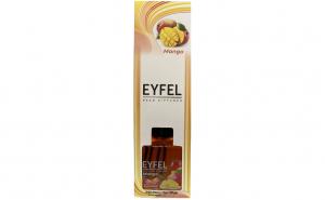 Parfum de camera Eyfel Mango 120 ml / Betisoare de bambus