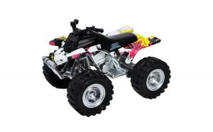 Vehicul ATV din metal,10.5x7.5 cm