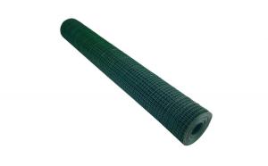Plasa sarma zincata sudata plastifiata 1 x 10 m - 19 x 19 x 1.4 mm