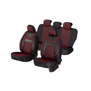 Huse Scaune Auto SEAT LEON ( 1999-2010)  Dynamic Rosu