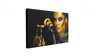 Tablou Canvas Fashion, 40 x 60 cm, 100% Bumbac