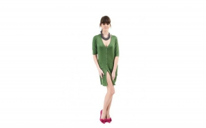 Rochie Angora verde