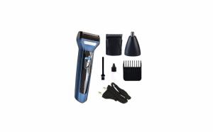 Kit pentru ingrijire parului facial 3in1 GM-566, acumulator incorporat