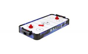 Joc de masa Air Hockey  pentru copii, 2 pucuri si 2 crose, dimensiuni 77x37x10 cm