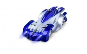 Masinuta Magic Car, Smartic®, urca pe tavan, perete, fereastra si podea, +3 ani, albastru