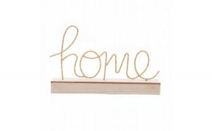 Lampa LED 3D model Home, 22x36 cm Crem