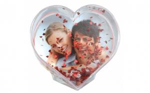 Glob inima personalizat - personalizare inclusa