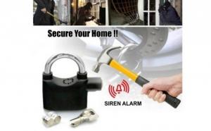 Lacat cu alarma pentru casa, garaj, poarta