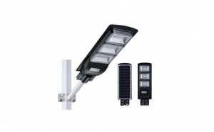 Lampa stradala cu panou solar 90W