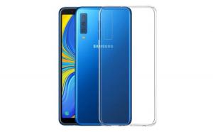 Husa protectie slim, Samsung Galaxy A7 2018, Silicon Transparent