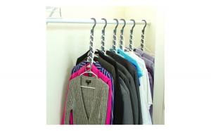 Suport pentru 50 umerase-organizare perfecta in dulapul tau de haine