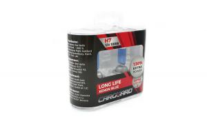 CARGUARD - Set de 2 becuri Halogen H7, 100W +130% Intensitate - LONG LIFE GLZ-BHA034
