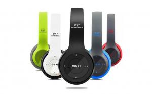 Casti P47 Wireless Pliabile