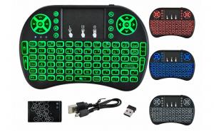 Mini tastatura wireless iluminata