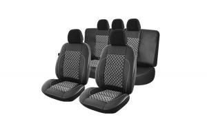 Set huse scaun exclusive leather premium
