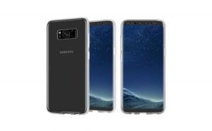 Husa Samsung S8 Plus Flippy Full Tpu 360 V2 Transparent