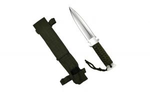 Cutit, otel inoxidabil, argintiu, Knife for the Jungle, 26 cm, teaca cadou