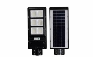 Lampa solara Stradala 120W, cu 210 LED + telecomanda