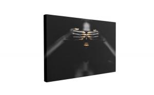 Tablou Canvas Black Pearl, 70 x 100 cm, 100% Bumbac