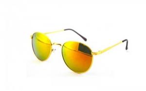 Ochelari de soare Rotunzi- orange/Gold