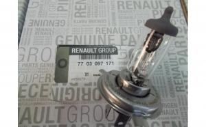 Bec H4 12 V 60/55W Original Renault 7703097171
