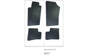 Covoare cauciuc PEUGEOT 206 1998-2012 (542711 P40)