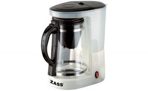 Cafetiera ceainic Zass ZCTM 01, 680W,