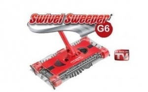 Tine la distanta microbii si praful din casa ta: Matura electrica Swivel Sweeper G6, la 75 RON in loc de 150 RON
