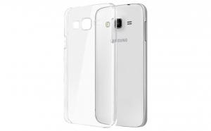 Husa slim silicon Samsung Galaxy J1 J100 Transparenta