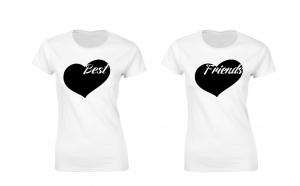 Pachet 2 tricouri de dama Best Friends