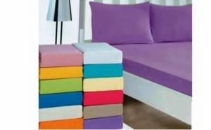 Husa de pat cu 2 fete de perna, TeamDeals 10 Ani, Casa & Gradina