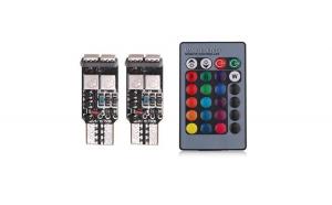 Bec pozitie RGB CU TELECOMANDA - T10  6